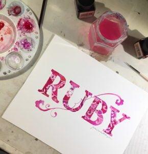 Bespoke-gift-ideas Custom Name cards