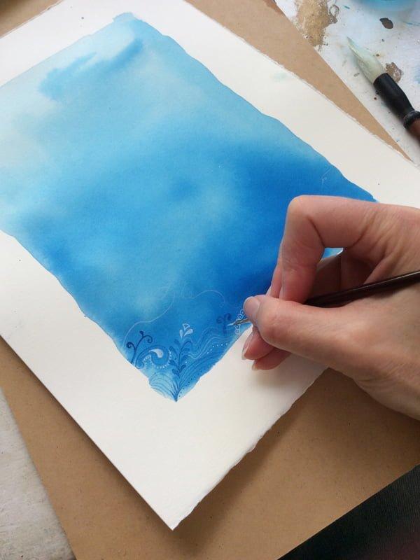 Illustration Watercolours