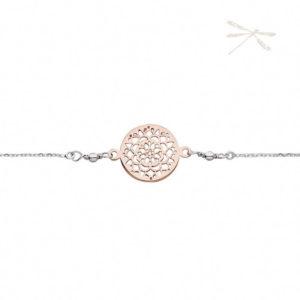 rosegold silver bracelet