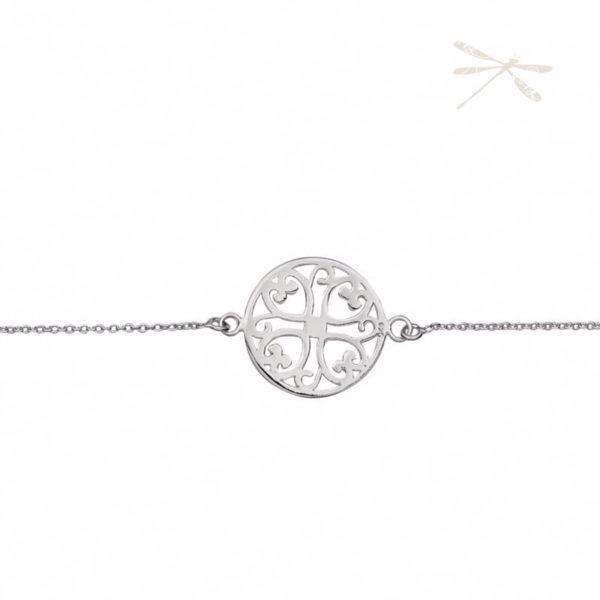 Silver Bracelet love