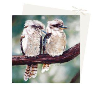 2 kookaburra's card