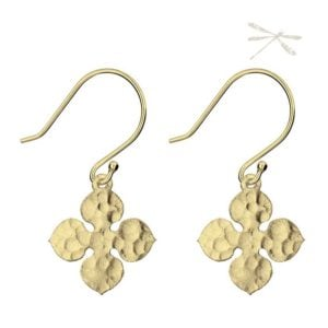 Fluer earrings Gold