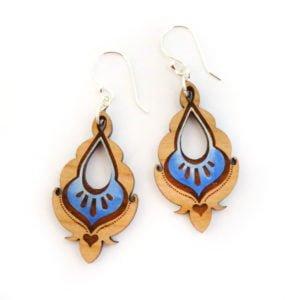 pyara blue earrings