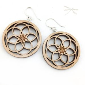 seeds of life earring